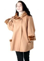 BK-03 Damen Winter Mantel 'Miss'